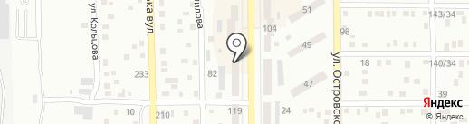 Магазин ковров на карте Макеевки