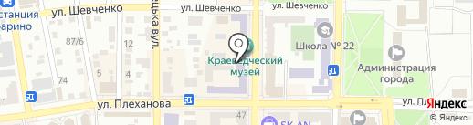 Макеевский художественно-краеведческий музей на карте Макеевки