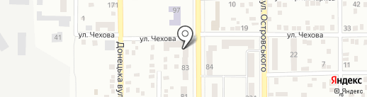 Аншлаг на карте Макеевки