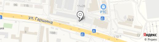 Томилочка на карте Томилино