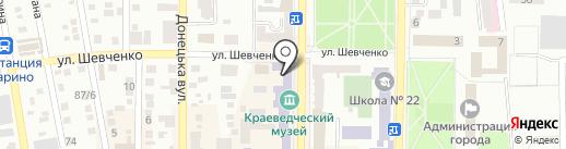 Nail Shop на карте Макеевки