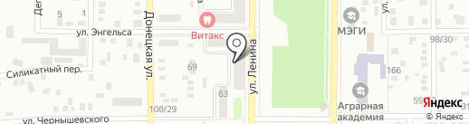 Банкомат, Platinum Bank на карте Макеевки