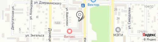 Хозяюшка на карте Макеевки