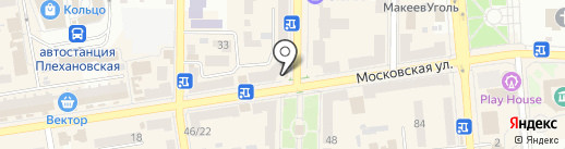 Карамель на карте Макеевки