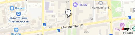 Хорошие окна-двери, торгово-монтажная компания на карте Макеевки