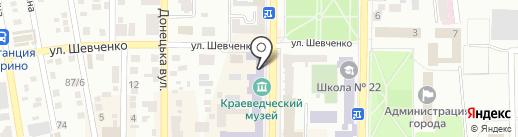 Нотариус Ермакович А.Г. на карте Макеевки