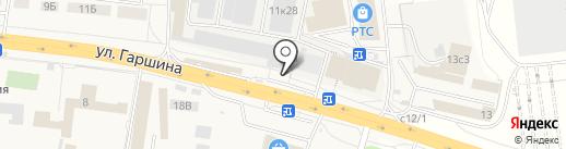 Автолюб на карте Томилино