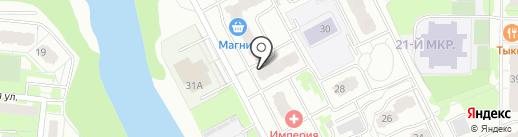 CompMatrix на карте Балашихи