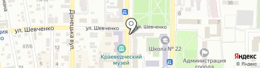 ФИНАНСОВЫЕ РЕСУРСЫ ДОНБАССА на карте Макеевки