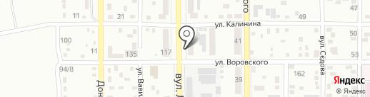 Муниципальная ритуальная служба на карте Макеевки