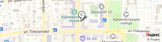 Адвокатский кабинет Пономарева Д.М. на карте Макеевки