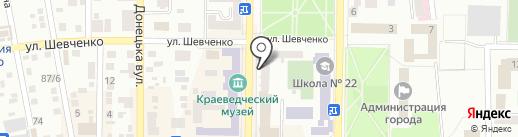 Оценка Недвижимость Финансы на карте Макеевки