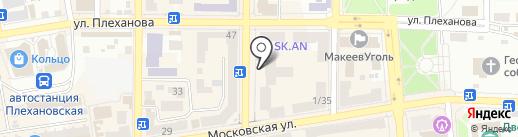 Ткани-Гардины, магазин на карте Макеевки