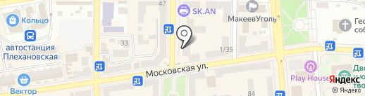 Компьютерная мода, магазин на карте Макеевки