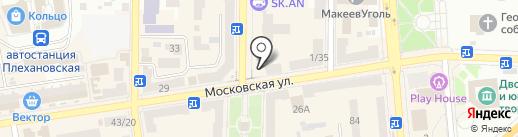 DIAWEST на карте Макеевки