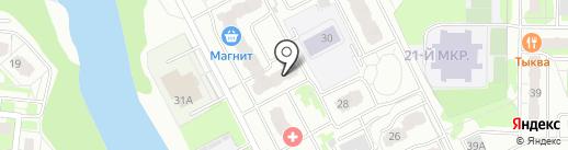 ГНОМ на карте Балашихи