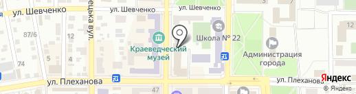Альт на карте Макеевки
