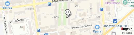 Магазин бижутерии на карте Макеевки