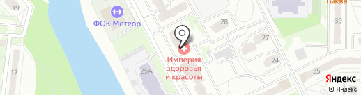 Локон на карте Балашихи