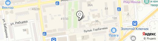 Обувь, магазин на карте Макеевки