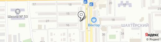 Большие размеры, магазин женской одежды на карте Макеевки