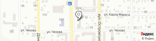 DP, автомойка на карте Макеевки