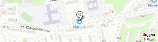 Магнит на карте Балашихи