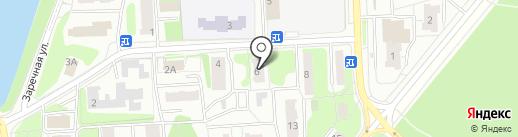 Эгоистка на карте Балашихи