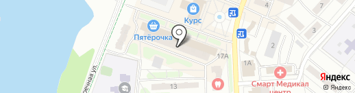 Разливайка на карте Балашихи