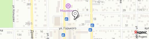 Автомойка на карте Макеевки