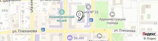 DOS-центр на карте Макеевки