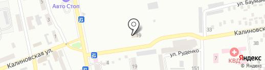 Управление Пенсионного фонда в Центрально-Городском районе г. Макеевки на карте Макеевки
