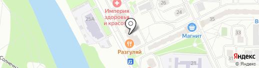МЕТТЭМ-безопасность на карте Балашихи
