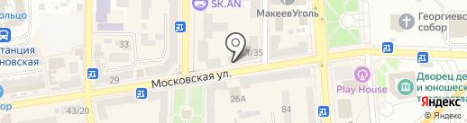 Макеевка Онлайн на карте Макеевки