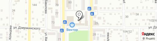 Макеевское городское управление ГУМВД Украины в Донецкой области на карте Макеевки