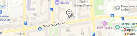 Бриз на карте Макеевки
