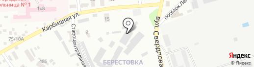 Кант на карте Макеевки