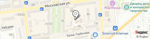 Макеевская объединенная государственная налоговая инспекция на карте Макеевки