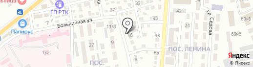 3W на карте Макеевки