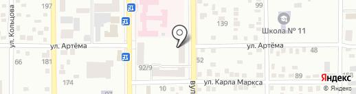 Олимп, центр спорта и красоты на карте Макеевки