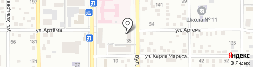 Олимп на карте Макеевки