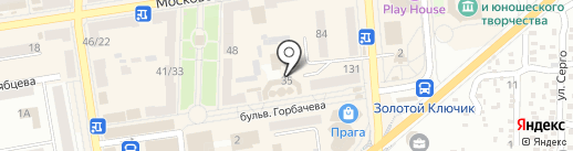 Элизиум на карте Макеевки