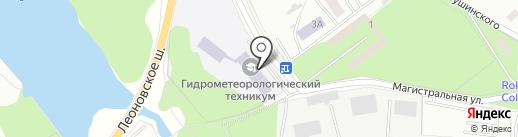 Атом на карте Балашихи
