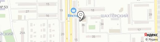 Пекарня на карте Макеевки