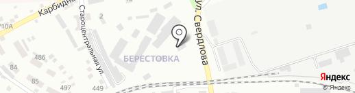 GAZAUTO на карте Макеевки