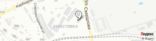 GAZAUTO, автокомплекс на карте Макеевки