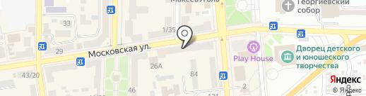 OLKO на карте Макеевки