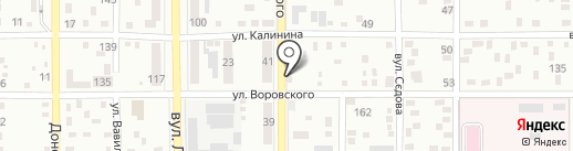 ДОНРОСС ХОЛДИНГ на карте Макеевки