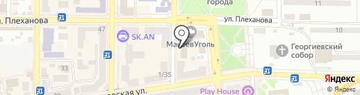 Стол и Стул на карте Макеевки