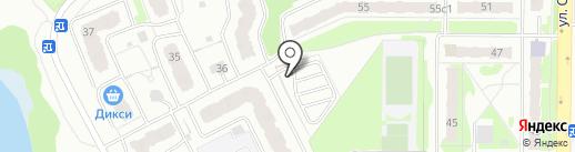 Автостоянка на карте Балашихи